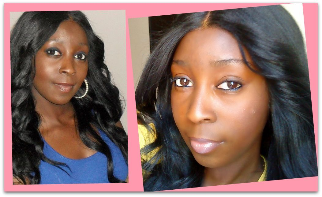 Celebrity full lace wigs with baby hair