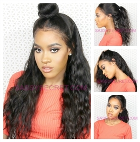 360 Lace Frontal Wigs Made With Remy Hair Buy Brazilian Lace Front