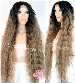 Wavy Synthetic Lace Wig