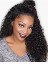 Indian Virgin full lace wig with tight Spanish curl