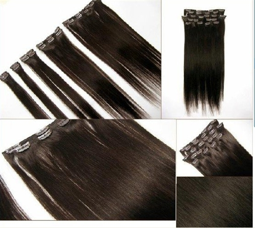 Clip in hair extensions clip in six piece weave by sassy secret availability pmusecretfo Image collections