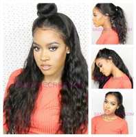 Full lace wig,  silky hair, body wave pattern, color 1, 1b, 2, and NC, Destiny by Sassy Secret