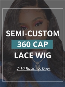 Virgin Hair 360 Lace Wig
