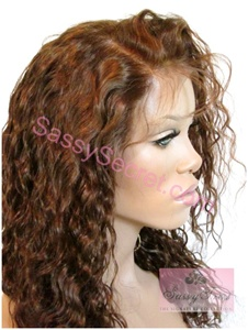 glueless full lace wavy wig