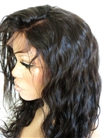 Full lace wig with Spanish wave