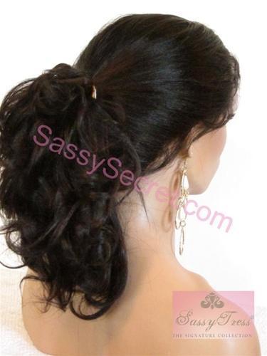 Light Yaki Glueless Full lace Wigs | Sassy Secret