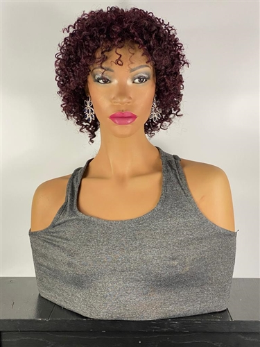 Kim Kardashian synthetic lace front wig