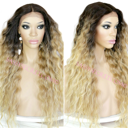 167e6f66629 SERENITY* OMBRE Lace front Wig Color 2/27/613