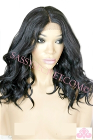 Curly Synthetic Lace Wig