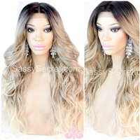 Blonde Ombre lace wig