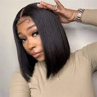 "silk top lace wigs, 20"" Fine Yaki Straight, color 1 or 1b, Sabrena by Sassy Secret"