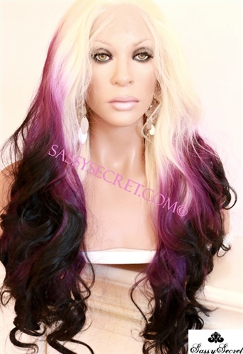Yaki Synthetic Lace Wig